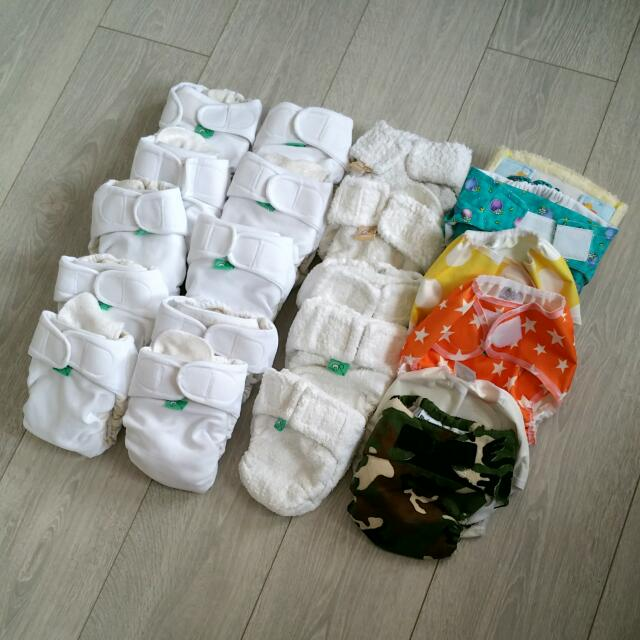 Newborn to 10 Month-  Cloth Nappy Bundle
