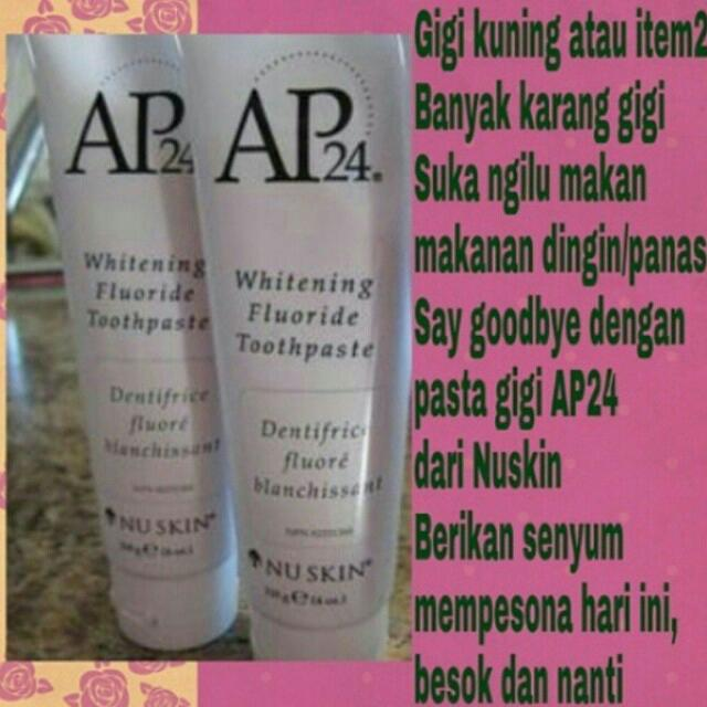Nuskin Pasta Gigi Ap24 Health Beauty On Carousell