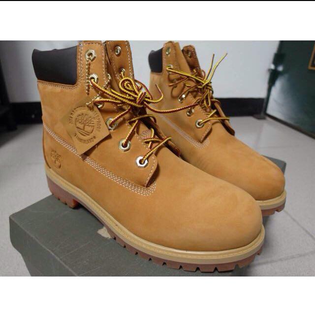 Timberland帥氣黃靴