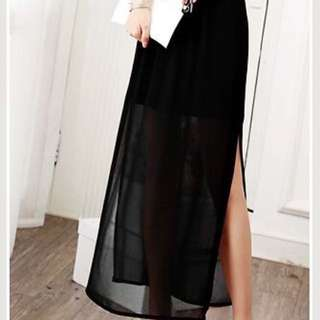 Side Split Skirt INSTOCK