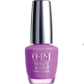 (限量OPI七折🎉)OPI 如膠似漆閃耀系列.紫色情事指甲油(ISL12)
