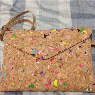 仿軟木塞材質包包