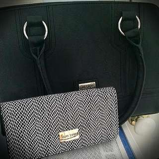 Black And White Patterned Purse