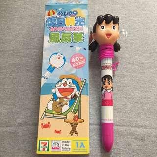 哆啦A夢風扇筆