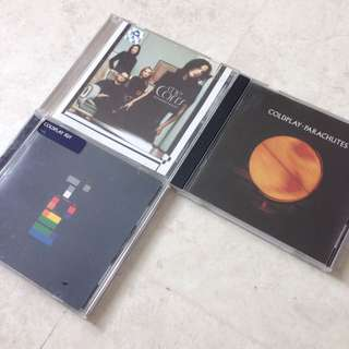 CD - Coldplay - X&Y, Coldplay - Parachutes, The Corrs - Borrowed Heaven
