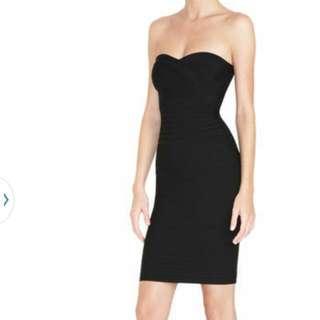 Herve Ledger Wrap Bodycon Dress Sz Small Price DROP!!! GRAB A BARGAIN. Bandage Dress.