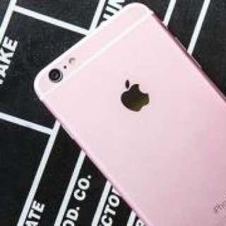 全新未拆I Phone 6s. plus(5.5寸)玫瑰金。64g