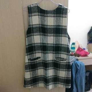 Queen shop條紋背心裙