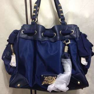 Juicy Couture 藍色包~吊牌防塵套都在