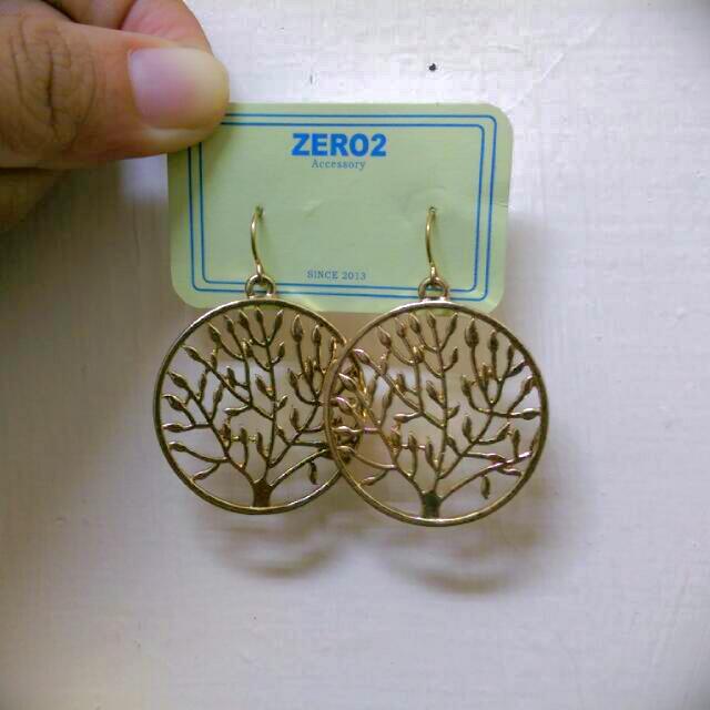 (保留)森林小樹垂掛耳環