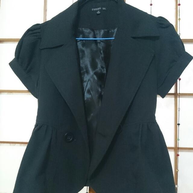 韓版小黑外套(已降價)