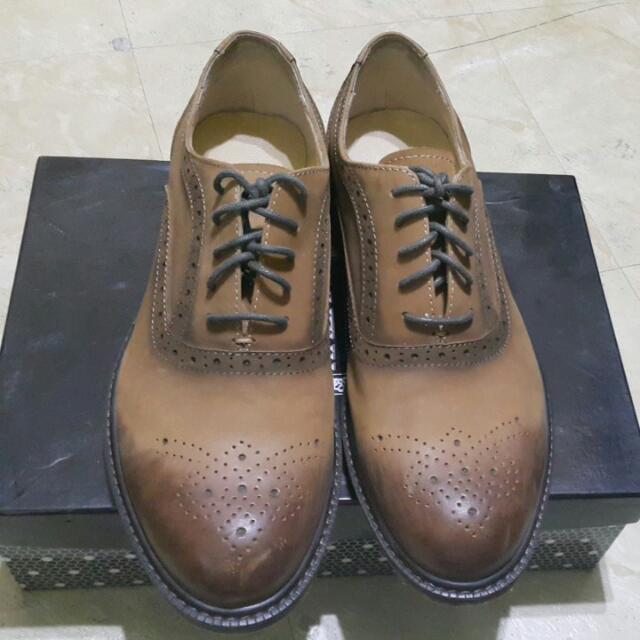 (待匯)淺咖啡色牛津鞋(男鞋)