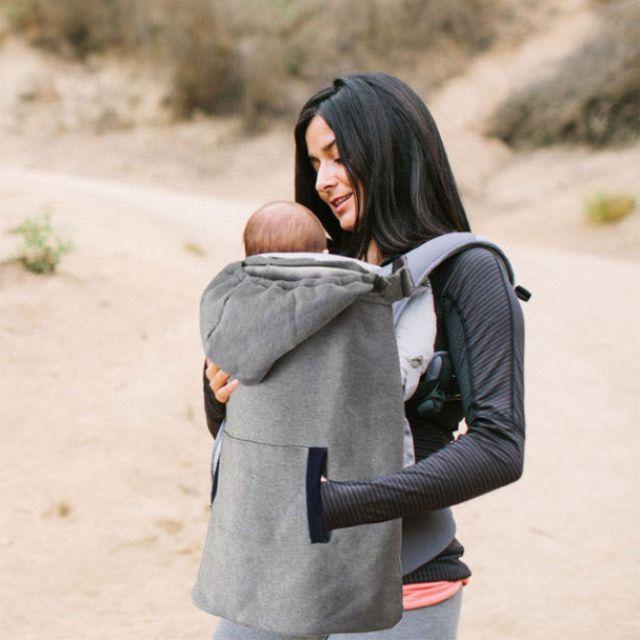 嬰兒揹帶保暖披風斗篷