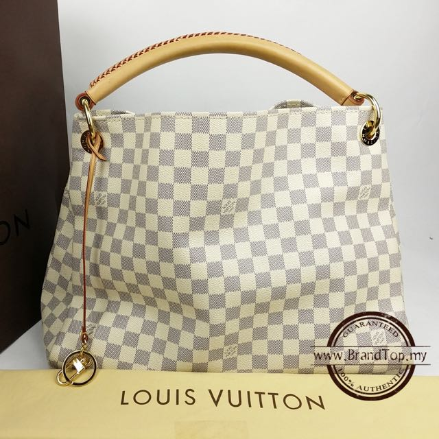 5e8cd168f153 💯% Authentic Louis Vuitton Damier Azur Artsy MM