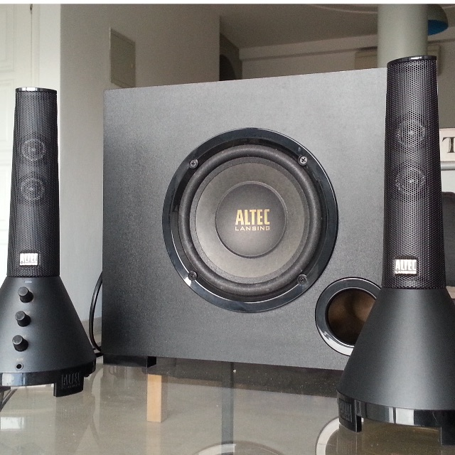 ALTEC OCTANE 7 - 2.1 sound System for PC/laptop/MP3
