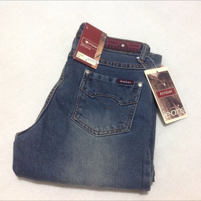 Amber Glow Jeans