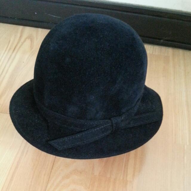 Apuascutum黑絨淑女帽
