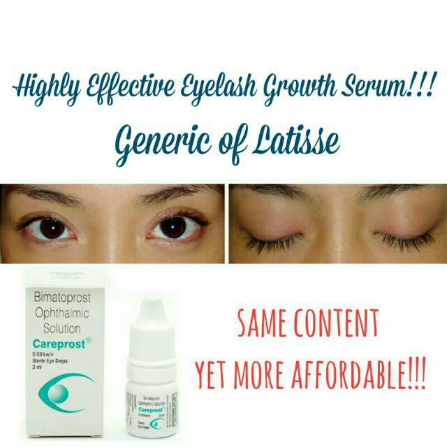 Authentic Careprost Eyelash Growth Serum Generic Latisse Health