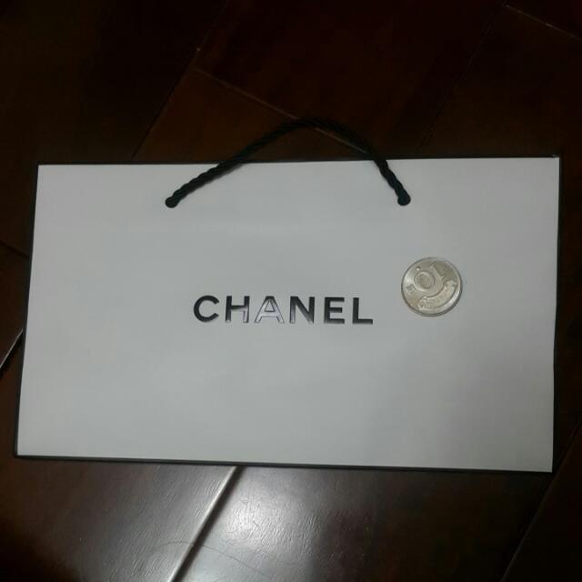 CHANEL紙袋 名牌紙袋 經典 正版 提袋 袋子