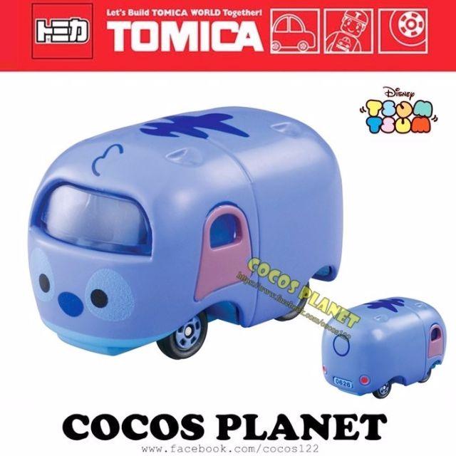 COCOS 日本 TOMY TOMICA 迪士尼 TSUM TSUM 疊疊樂 史迪奇 夢幻小車 多美小汽車