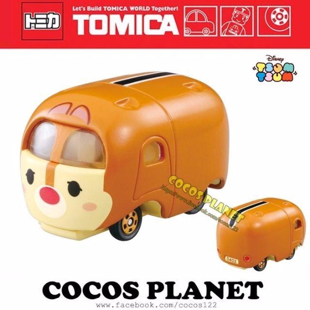 COCOS 日本 TOMY TOMICA 迪士尼 TSUM TSUM 疊疊樂 花栗鼠 蒂蒂 夢幻小車 多美小汽車