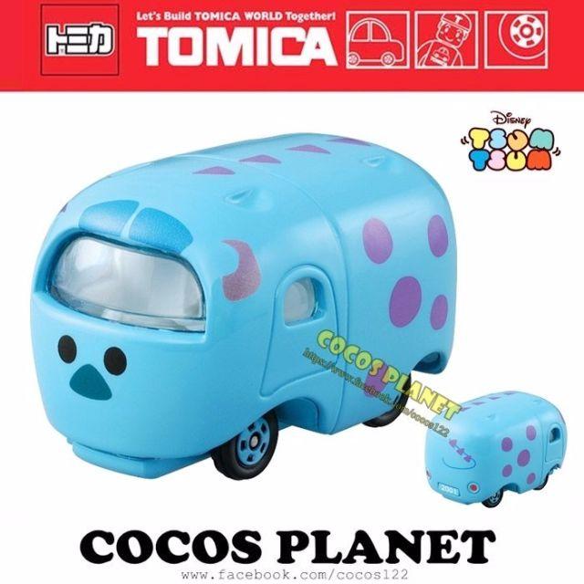 COCOS 日本 TOMY TOMICA 迪士尼 TSUM TSUM 疊疊樂 怪獸大學 毛怪 夢幻小車 多美小汽車