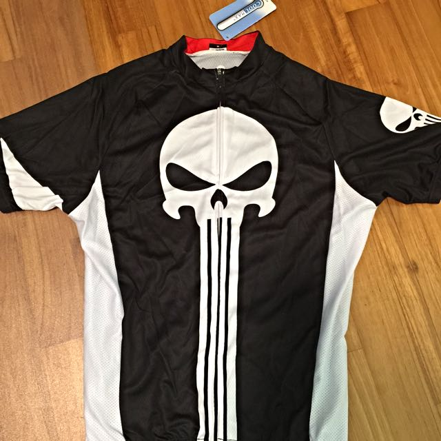 51ae99814 Cycling Jersey The Punisher Design (M-size)