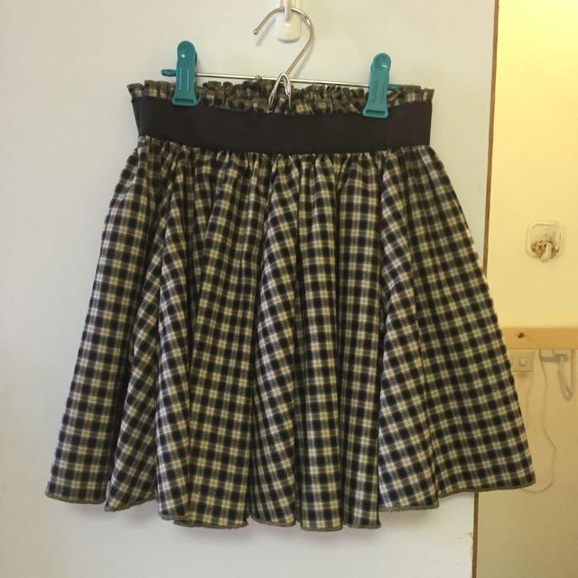 全新🌷Fifty Percent 學院風格紋短裙