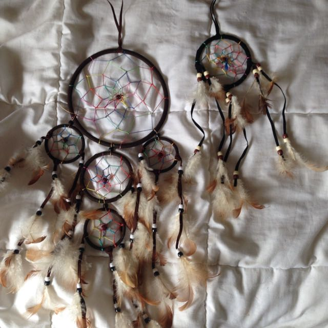 Large and Small dream catcher