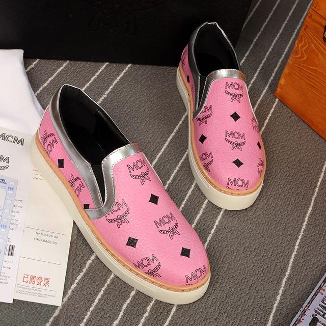 真皮鞋 平底鞋 休閒鞋 懶人鞋