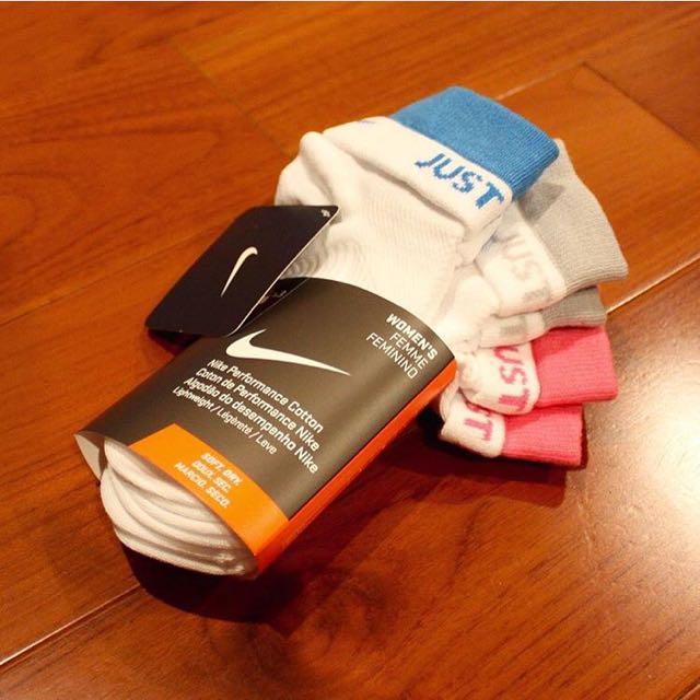 Nike棉襪 三雙一組