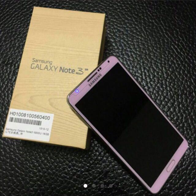 粉色Note3 LTE 16G手機