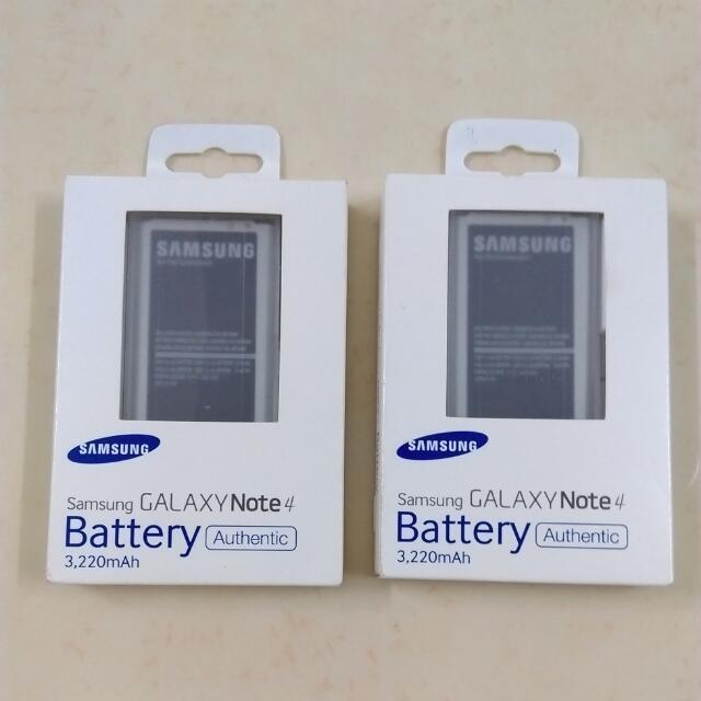 三星原廠電池Note4(全新)