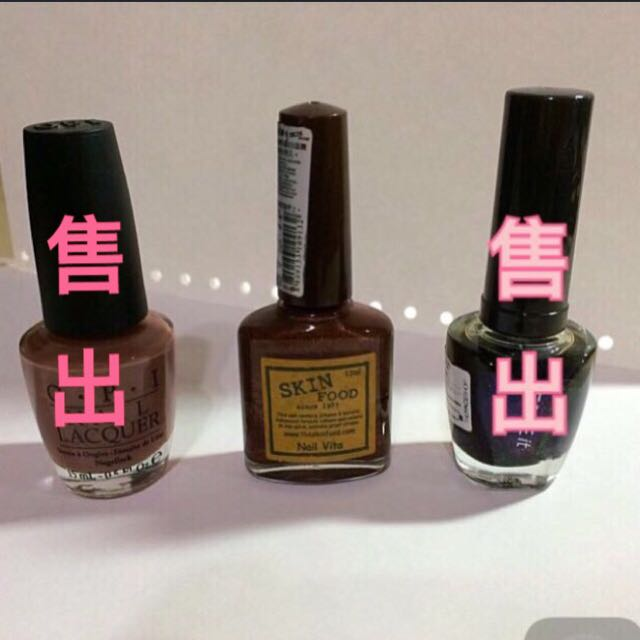 OPI/Skin Food/The Face Shop 指甲