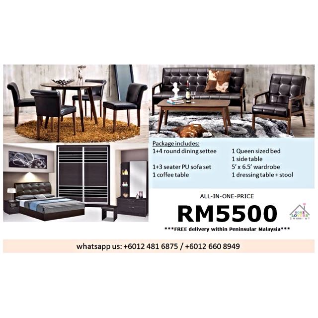 Whole House Furniture Package Home, Whole House Furniture Packages