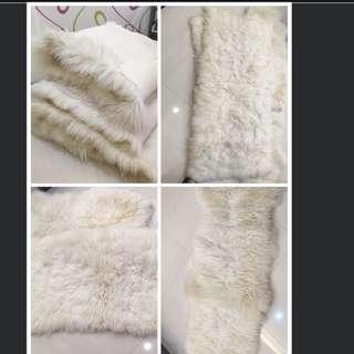 節目預報---羊毛墊,布蕾絲亞麻巾等