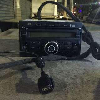 2 DIN 音響主機 (USB)