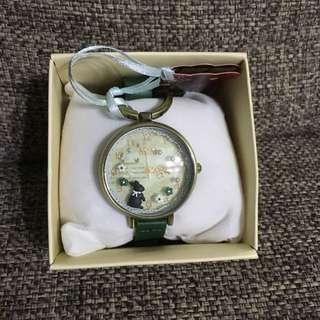 小兔子造型錶 全新