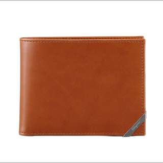 Salvatore Ferragamo Angolino Leather Wallet With Coin Pouch