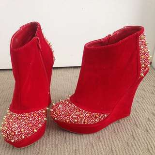Red Boots From VS