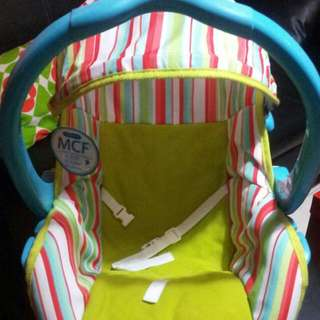Baby Swing (Manual) Can Also Use For Car Seat Fot Baby
