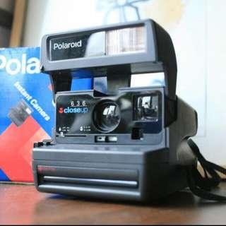 Polaroid 636 拍立得
