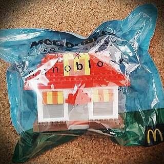 [Limited Edition] McD RESTAURANT/HOUSE  McDonald's Food Icons x nanoblock