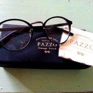 降)全新PAZZO 復古眼鏡
