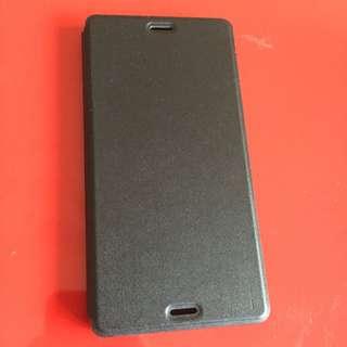 Muvit Sony Z3 slim Folio 輕薄雅致手機殼黑色