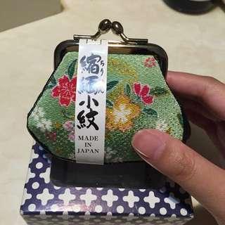 全新日本帶回零錢包
