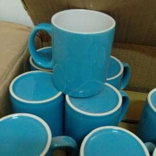 藍白色系馬克杯