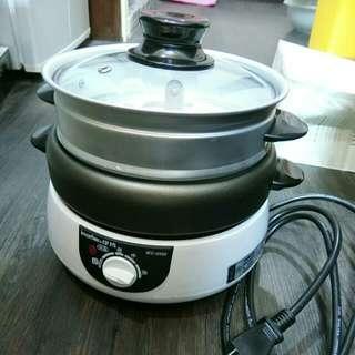 日本伊瑪便利型三合一多功能料理鍋2手