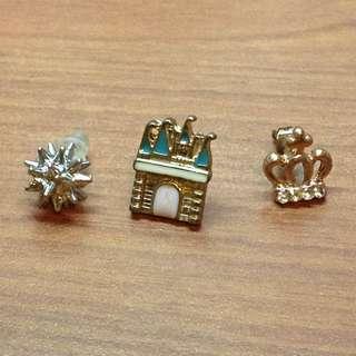 全新 小耳環(皆一個)