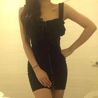 2手)黑色洋裝